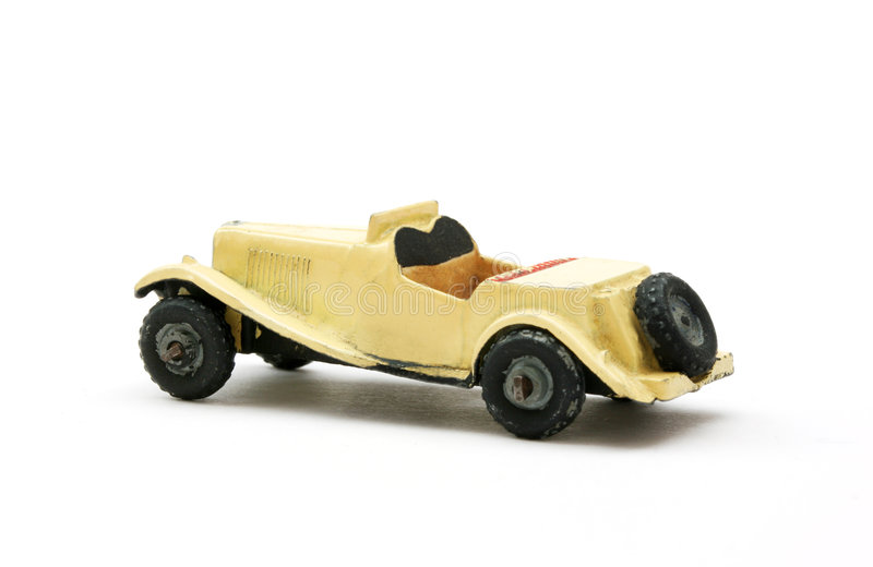 samochód sportowy model zabawki obrazy stock