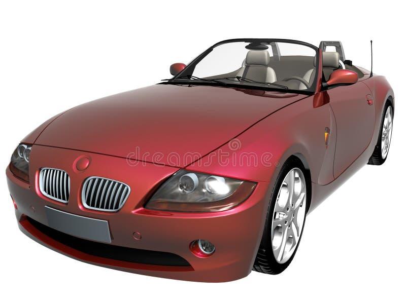 samochód sportu 3 d fotografia royalty free