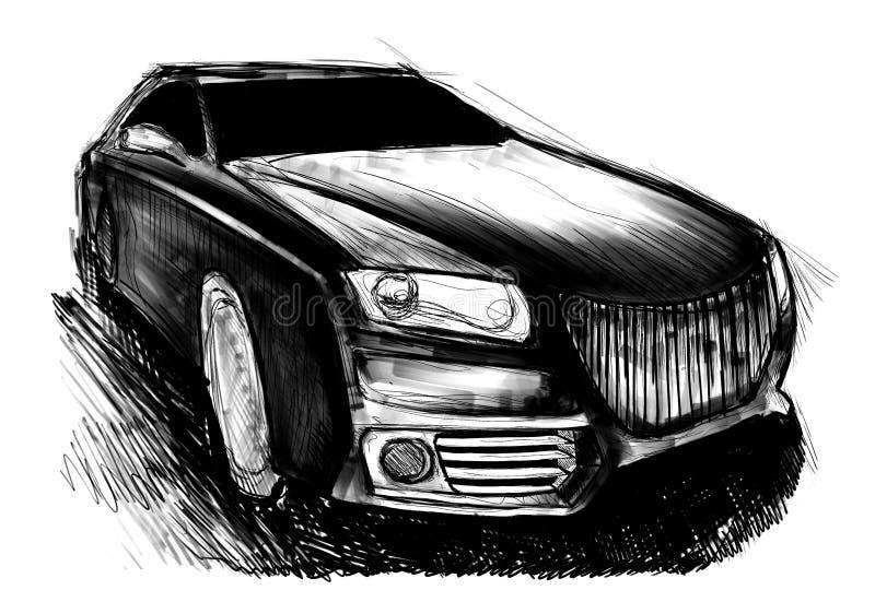 samochód sportu royalty ilustracja