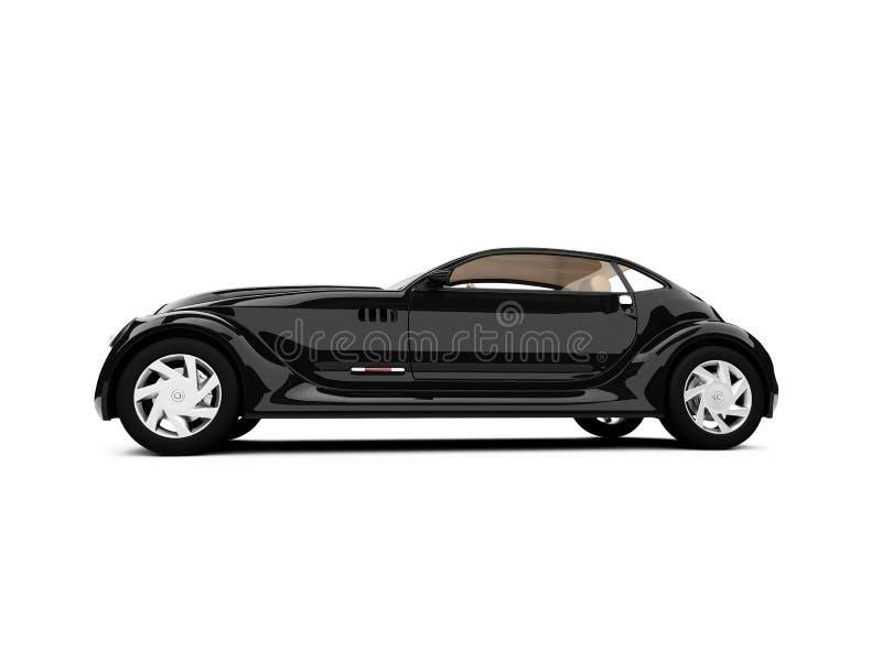 samochód tła pojęcia białe światło ilustracja wektor