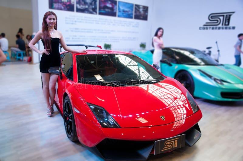 Samochód terenówka i model zdjęcie stock
