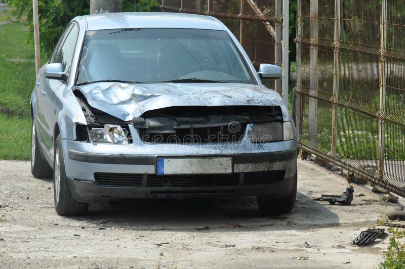samochód uszkodzony obrazy stock