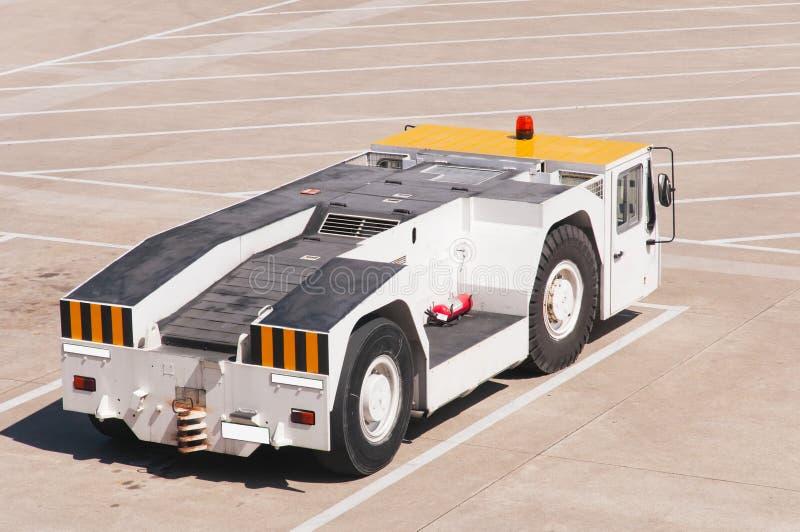 Samochód w lotnisku obrazy royalty free