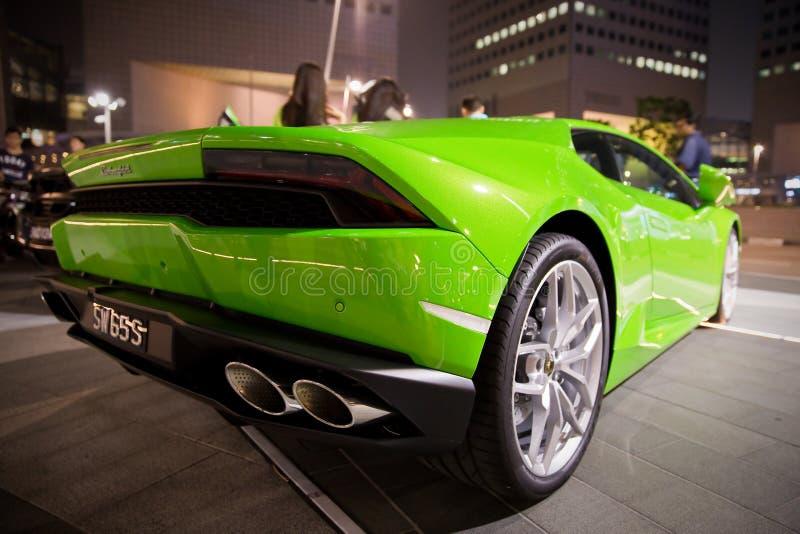 Samochód w Singpore zdjęcia stock