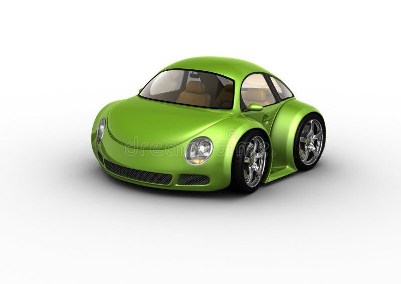 samochód zieleń ilustracja wektor