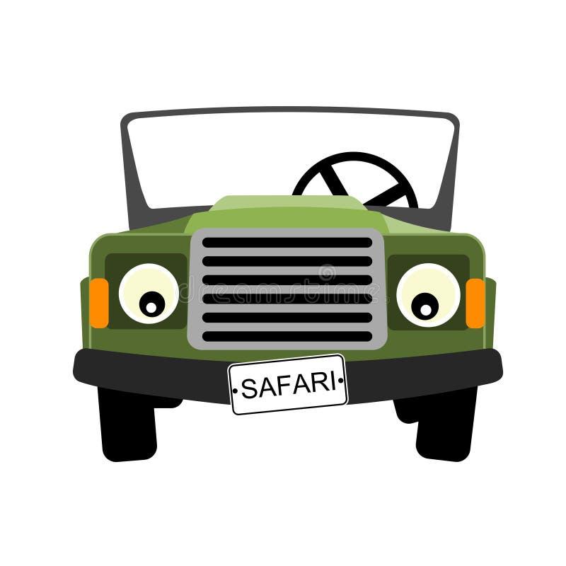 samochód zieleń ilustracji