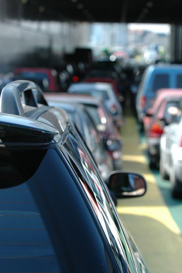 samochodów czekać zdjęcia stock