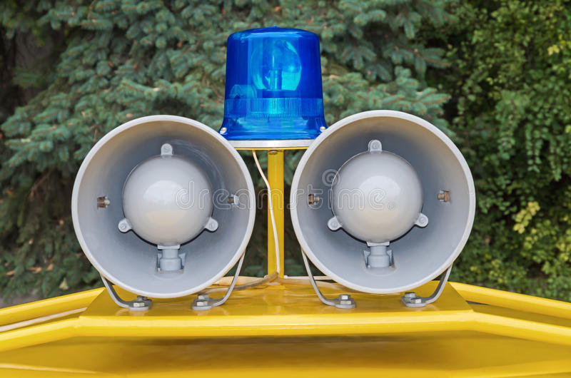 Samochodów Policyjnych światła obrazy stock