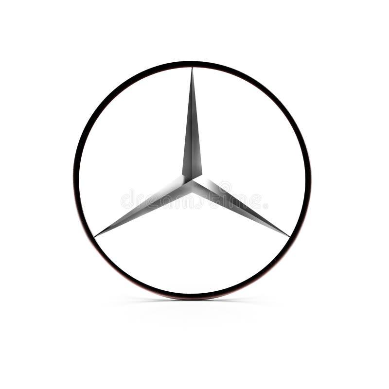 125 samochodów 2011 rocznicowych benz świętują target1838_0_ przemysłu swój loga Mercedes rok Mercedes-Benz jest globalnym samoch ilustracji