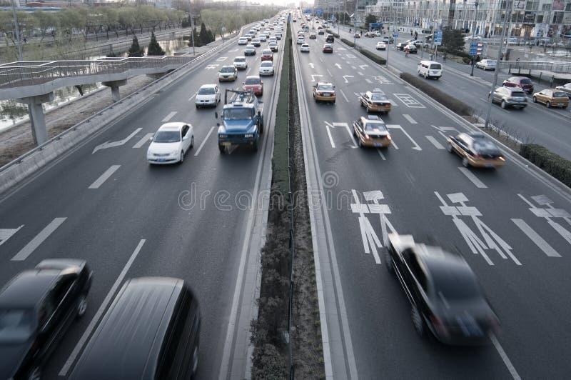 samochodów ruch drogowy wycieczka zdjęcie royalty free