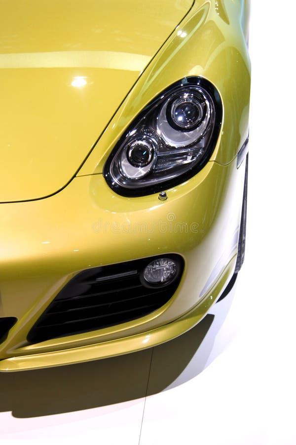 samochodów sporty kierowniczy lampowi fotografia stock