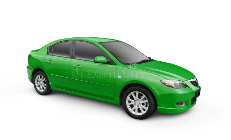 samochodowa ścinku zieleni ścieżka w obrazy stock
