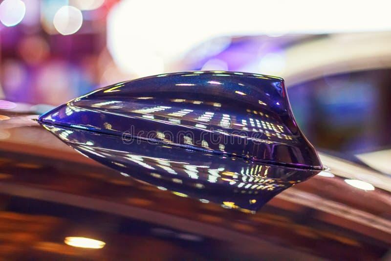 Samochodowa antena zdjęcie royalty free