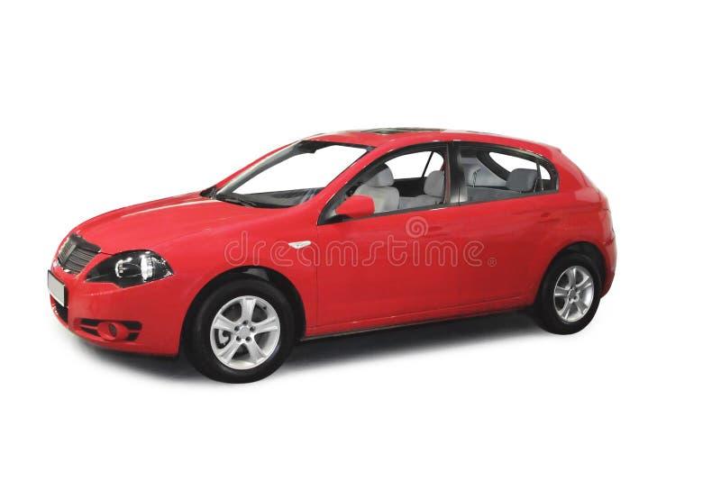 samochodowa czerwień zdjęcia royalty free