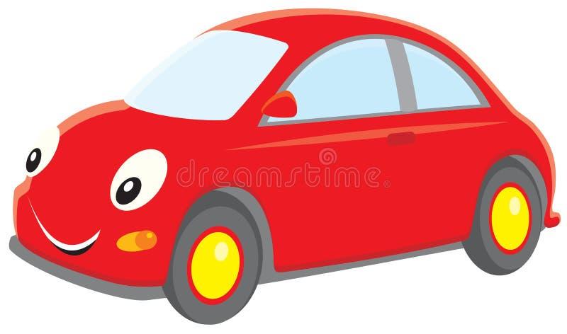 samochodowa czerwień royalty ilustracja