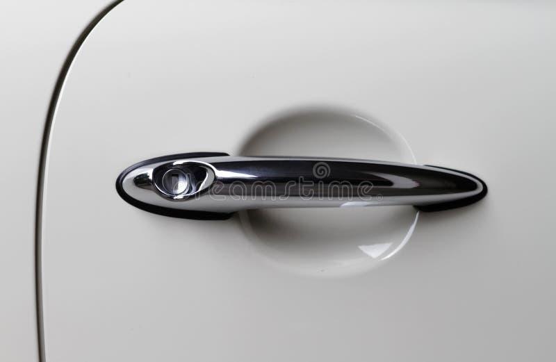 samochodowa drzwiowa gałeczka obrazy stock