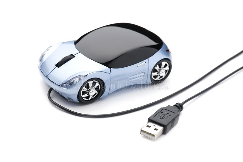 samochodowa komputerowa mysz obraz royalty free