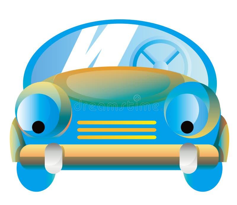 samochodowa kreskówka royalty ilustracja