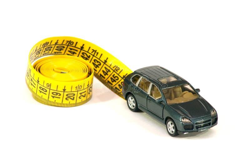 samochodowa kreskowa ruleta zdjęcia stock