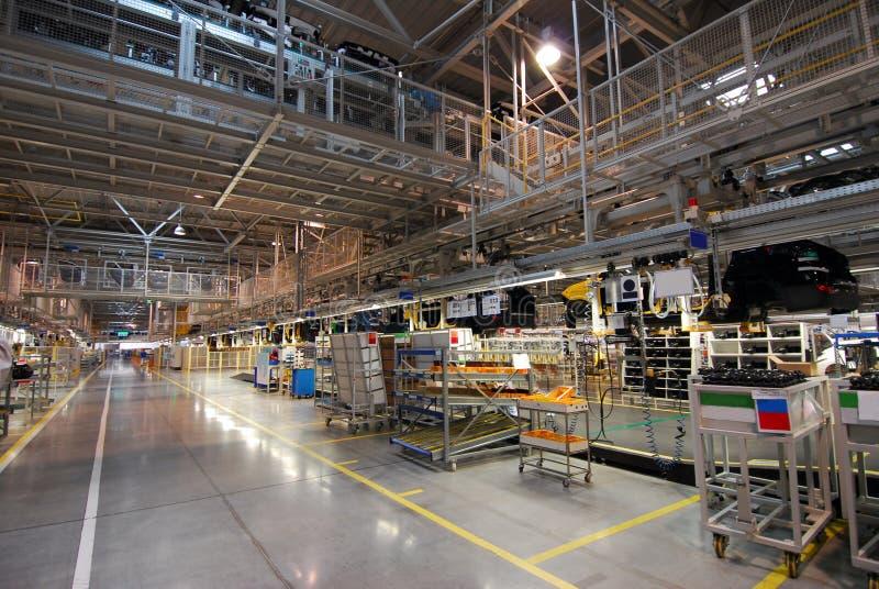 Samochodowa linia produkcyjna zdjęcie stock