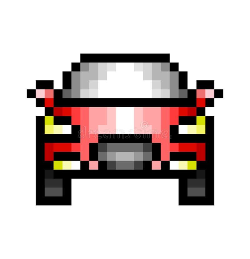 Samochodowa piksel ikona ilustracja wektor