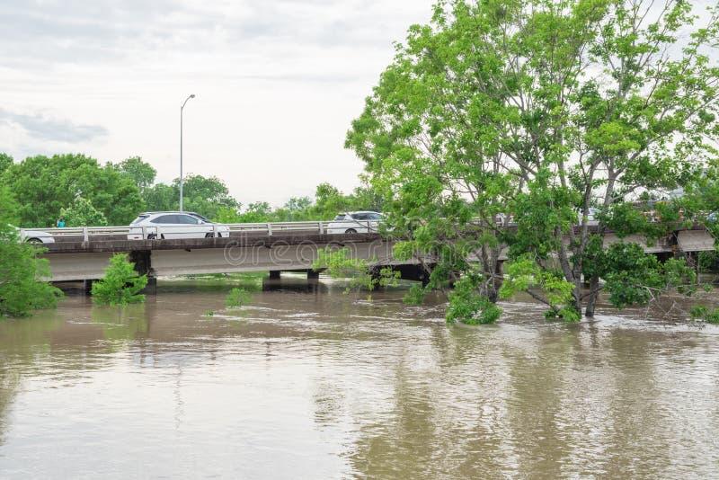 Samochodowa pluśnięcie powódź obrazy royalty free