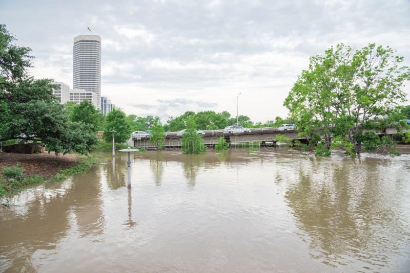 Samochodowa pluśnięcie powódź zdjęcie stock