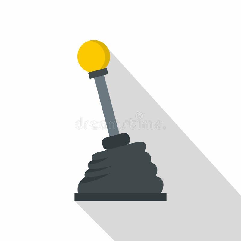 Samochodowa przekaz ikona, mieszkanie styl royalty ilustracja