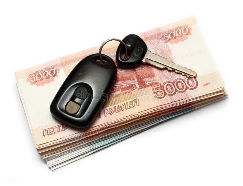 samochodowa ręka wpisuje pieniądze po drugie zdjęcie royalty free