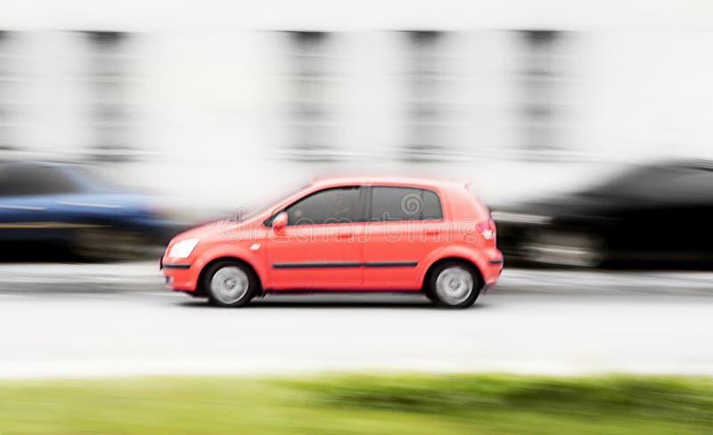 samochodowa szybka czerwień zdjęcie royalty free