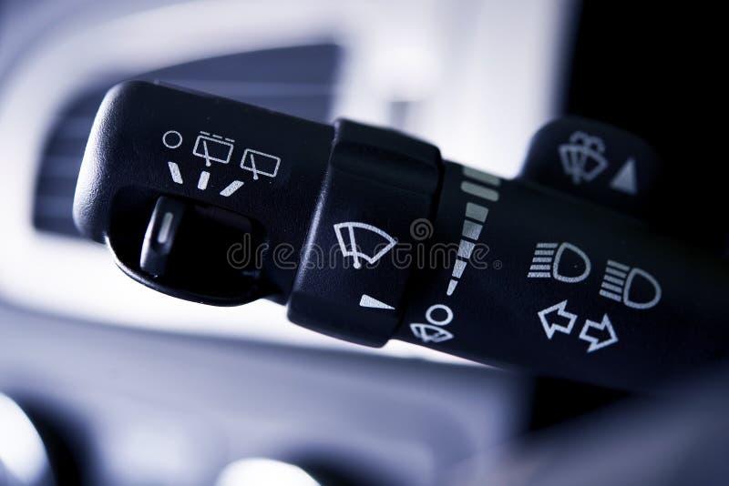 Samochodowa Wipers kontrola obrazy royalty free