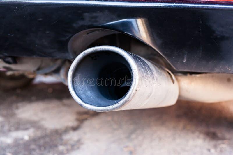 Samochodowa wydmuchowa drymba zdjęcie stock