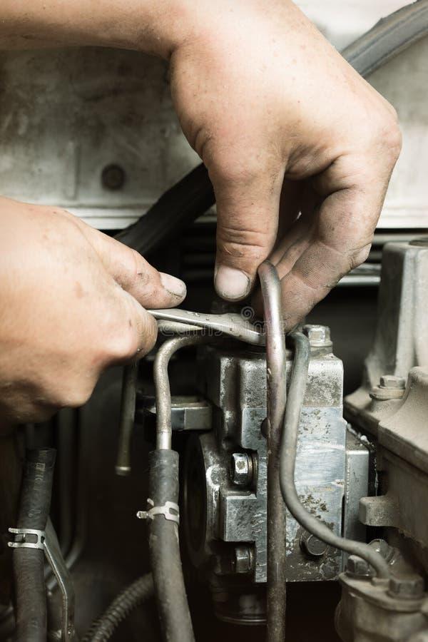 Samochodowe naprawy fotografia stock