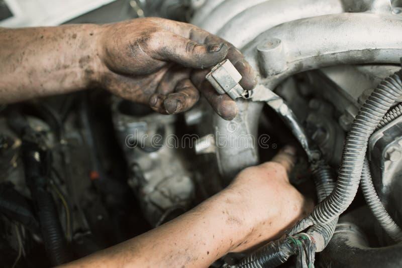 Samochodowe naprawy zdjęcia stock
