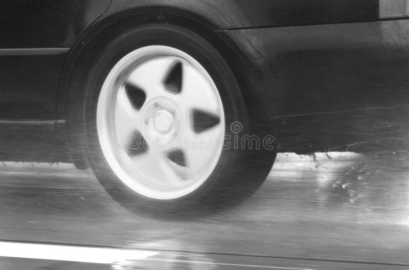 samochodowego dzień napędowy szybki dżdżysty sport zdjęcie royalty free