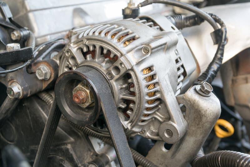 Samochodowego silnika zbliżenie fotografia stock
