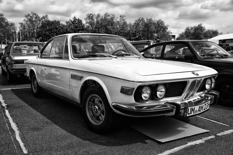 Samochodowi BMW Nowi Sześć CS (czarny i biały) zdjęcie stock