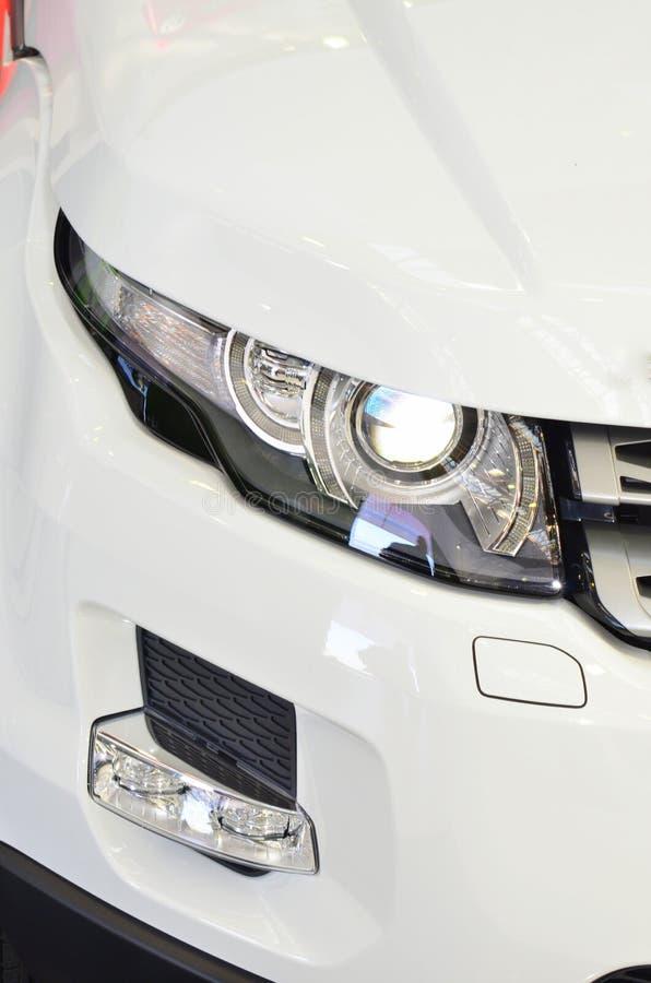 samochodowi mgły głowy światła ksenony fotografia stock