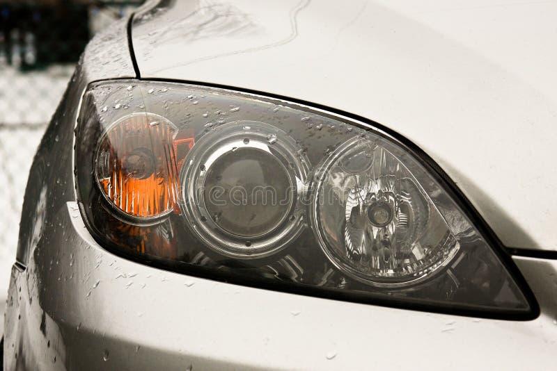 samochodowi reflektory zdjęcie stock