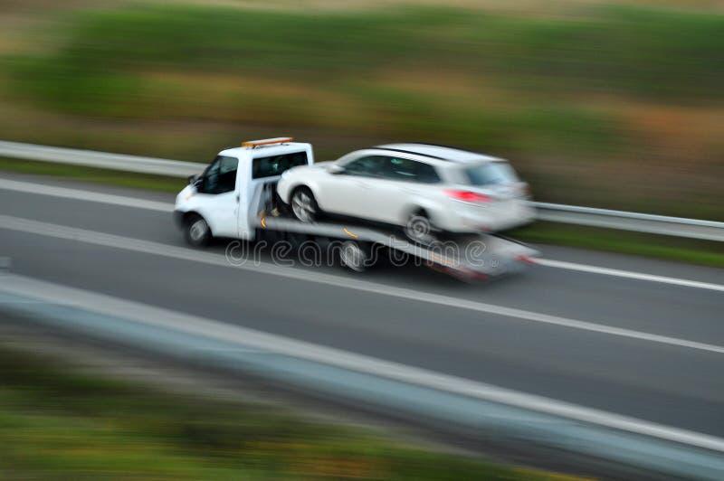 Samochodowy awaria nagły wypadek zdjęcie royalty free