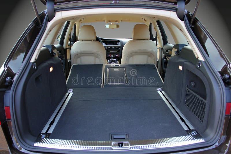 Samochodowy bagażnik fotografia stock