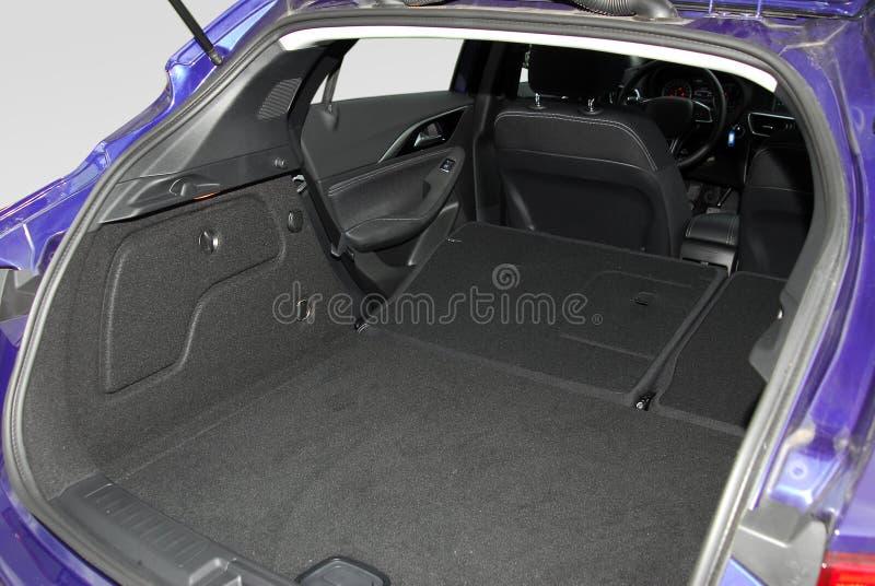 Samochodowy bagażnik zdjęcie royalty free