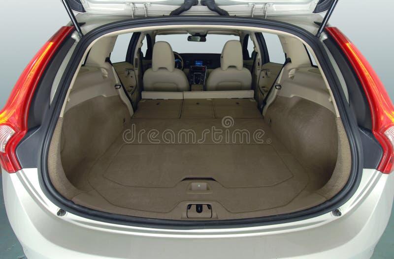 Samochodowy bagażnik zdjęcia royalty free