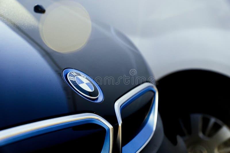 Samochodowy BMW i3 zdjęcia stock