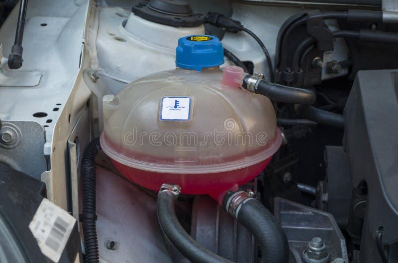 Samochodowy chłodniczy system obraz royalty free
