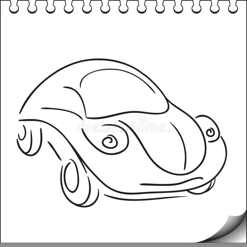 Download Samochodowy charakter ilustracja wektor. Obraz złożonej z automobilowy - 27086393
