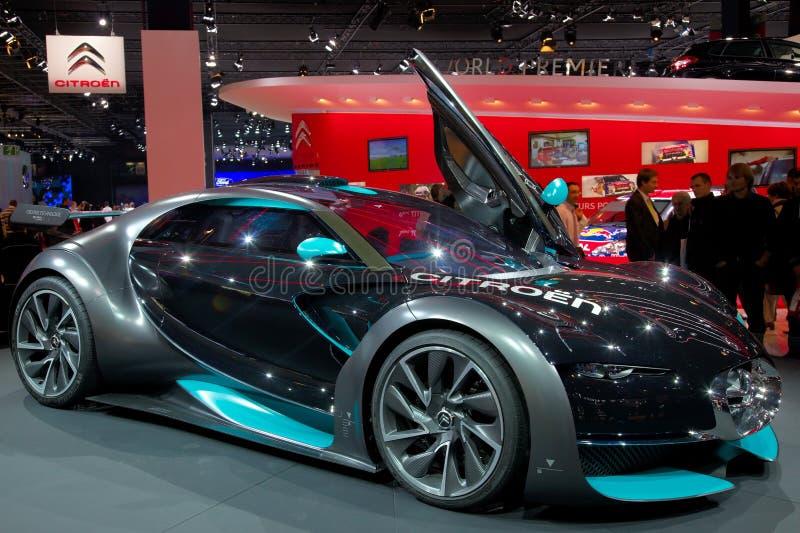 samochodowy Citroen pojęcia powstanie zdjęcie royalty free