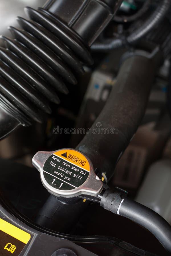 Samochodowy coolant system obraz royalty free