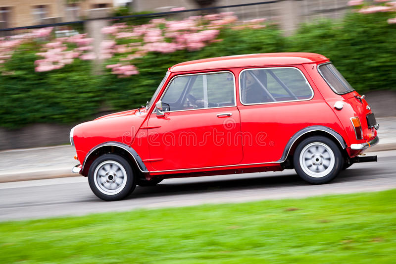 samochodowy czerwony mały zdjęcie royalty free