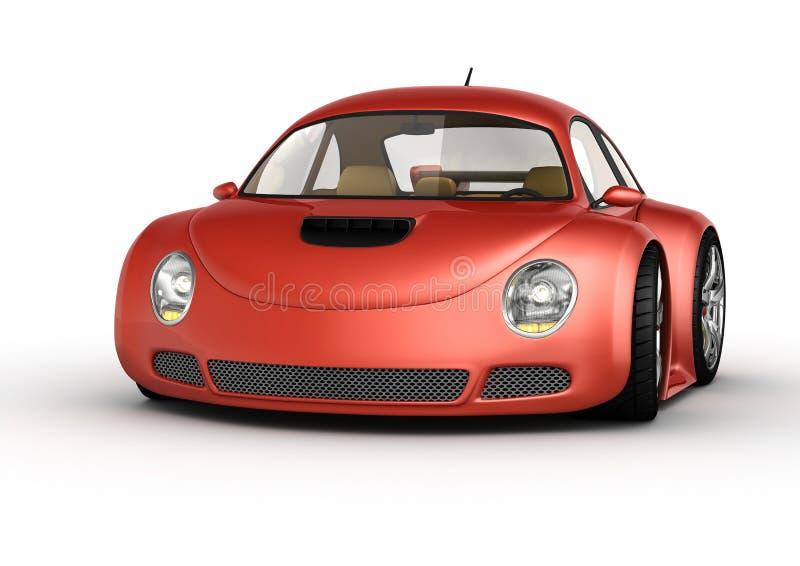 samochodowy czerwony sport ilustracji